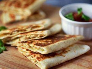 receta quesadillas